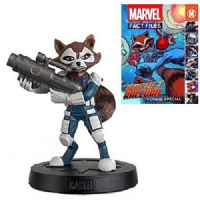 Marvel Fact Files - Cosmic Special: Rocket Raccoon - Statue & Magazine